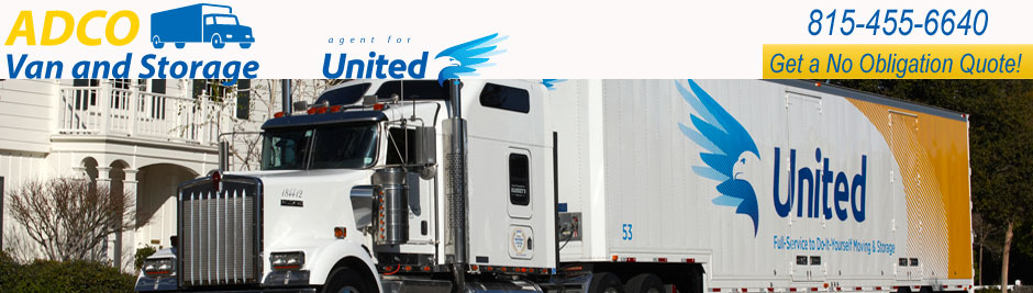 ADCO moving & storage - agent for United